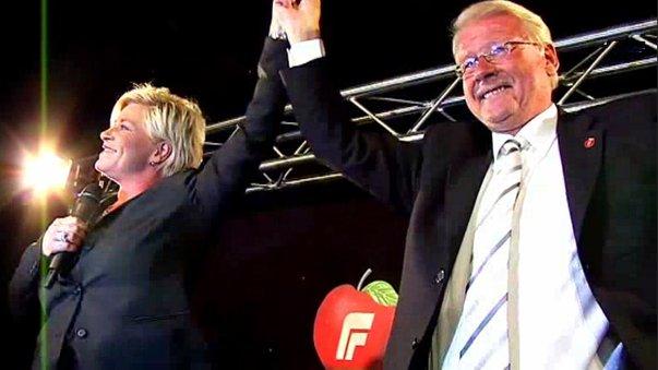 File:Siv Jensen and Carl I. Hagen on election night 2009.jpg