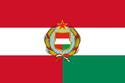 Flag of the Federal Socialist Republic of Austria-Hungary (Satomi Maiden ~ Third Power).png