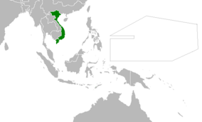 Location of Vietnam (Myomi Republic)