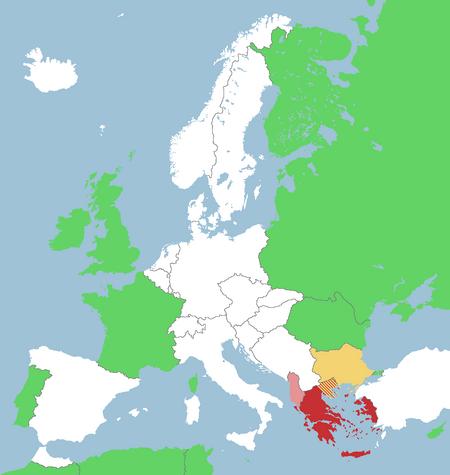 Greco-Bulgarian War (A Cautious Decision)