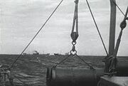 American ships towards europe