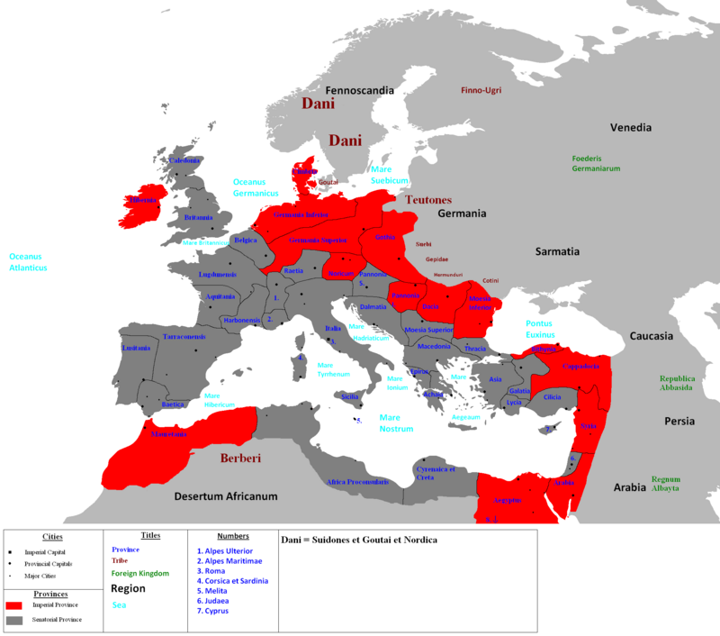 Roman Empire IXth Century