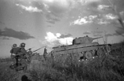 Soviet soldiers at mongolia