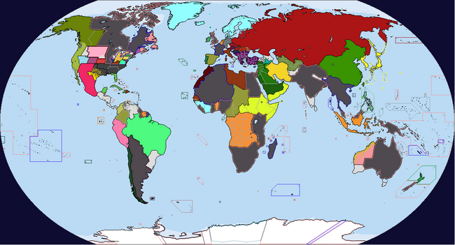 Diversa Pars Map Game 1933 Map