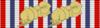 Czechoslovak War Cross 1939-1945 (3x) Bar