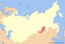 Location of Buryatia (New Union)