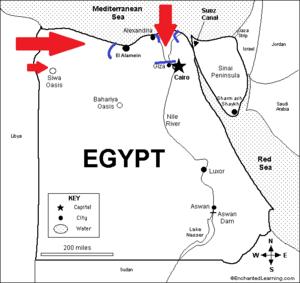 Nazi Invasion of Egypt