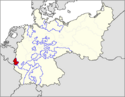 CV Map of Luxemburg 1918-1934