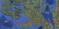 Europe (Sideways Earth)