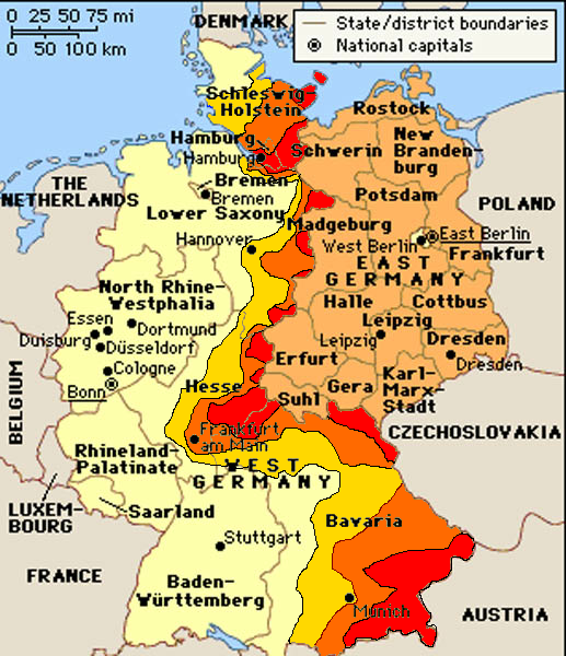 I Visited Much West Germany When Germany Was Still Divided