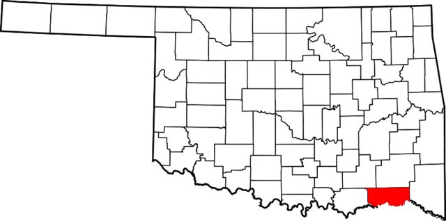File:File-Map of Oklahoma highlighting Choctaw County.png