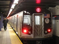 NYC Subway R160A 9237 on the E
