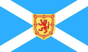 New scotland flag