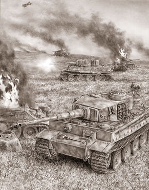 Tigers at Kursk