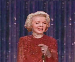 Marilyn at the 54th academy awards (finland superpower)