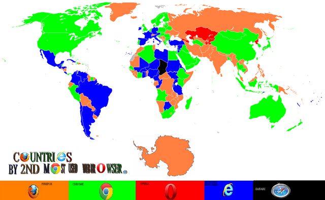 File:Countries by second most used web browser.png