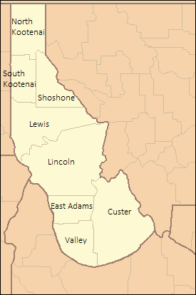 Lincoln county map (Alternity)