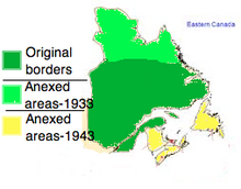 Lower Canada Borders (1932-1944)