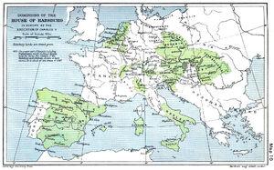 Habsburg Map 1547