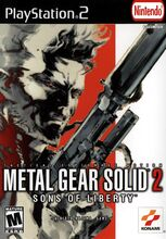 MGS 2 cover