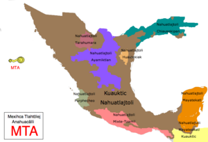 Nahuatl dialects