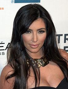 Kim Kardashian at the 2009 Tribeca Film Festival