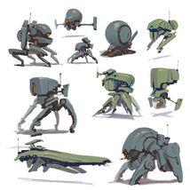 Standarized Service Combat Droids
