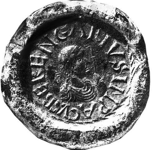 File:Berengar I on a seal.jpg