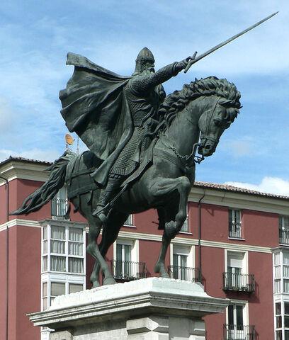 File:Estatua del Cid (Burgos).jpg