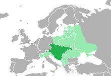 Location of Nazi Austria (King of America)