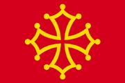 Aquitaine flag (Fidem Pacis)
