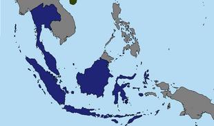 Map of 1891 Sumatera