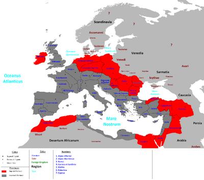 Roman Empire VIth Century