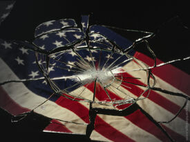 Broken-US-flag