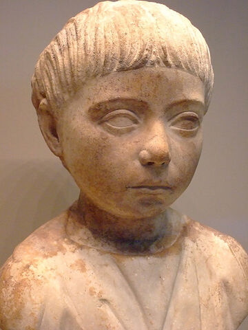File:Roman Child Bust 75CE.jpg