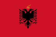 Flag Kingdom Of Albania svg