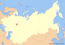 Location of Udmurtia (New Union)