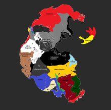 Pangea 1100 AD