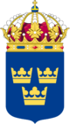 Coat of Arms of Sweden Lesser