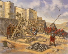 S-illustration-portrays-the-siege-of-tripoli-by-the-byzantine-army-of-emperor-basil-ii-the-defenders-are-probably-a-mixture-of-fatimid-warriors-and-local-arab-soldiers