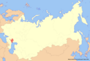 Location of Kalmykia (New Union)