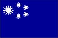 Comunist-influenced flag