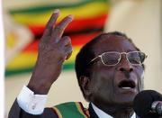 Robert Mugabe April 13 2009