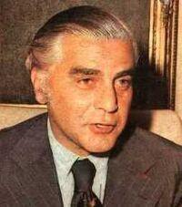 Antonio Cafiero en 1975