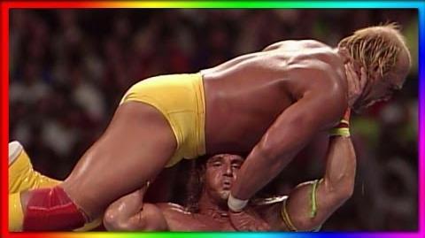Hulk Hogan vs. Ultimate Warrior- WrestleMania VI - Champion vs Champion