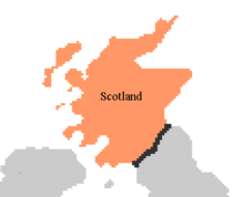 Scotland Map PMII