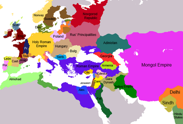 File:Mongol invasion Eurasia map.png
