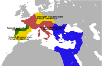 Goth frank roman map
