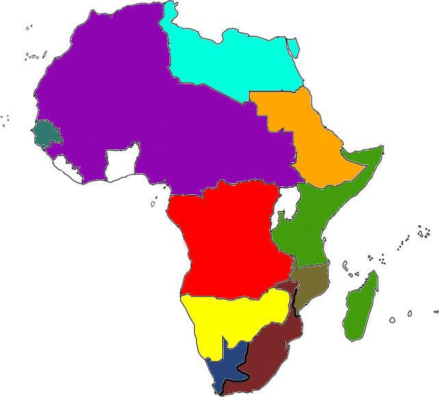 Map Africa New