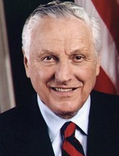Rhode Island Governor Bruce Sundlun